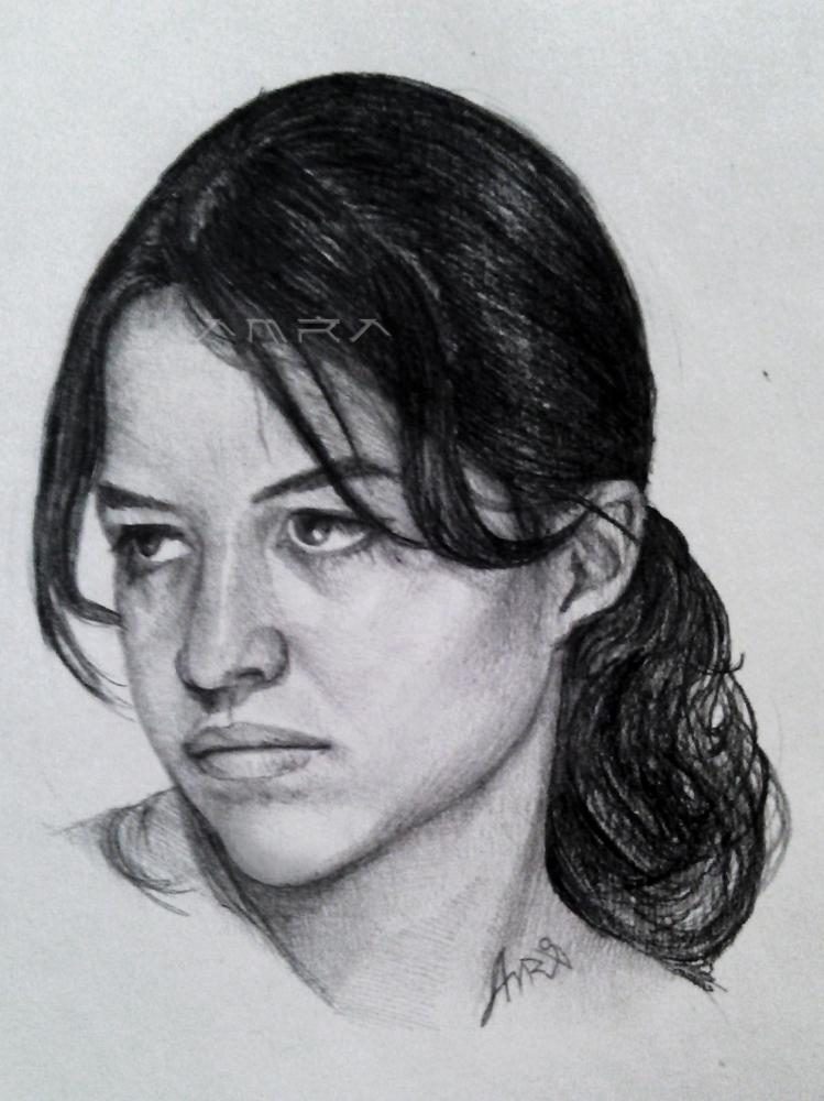 Michelle Rodriguez por Amra